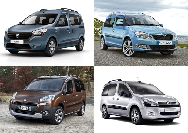 Dacia Dokker vs. Berlingo, Partner a Roomster: Co koupit?