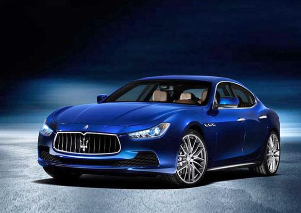 Maserati Ghibli: italská kráska na nových fotografiích
