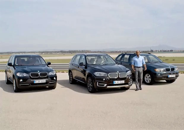 Video: Všechny tři generace BMW X5 spolu na jednom místě