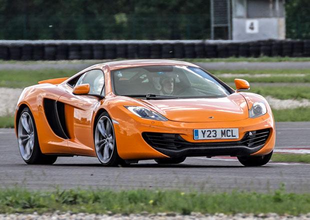 McLaren 12C: První jízdní dojmy