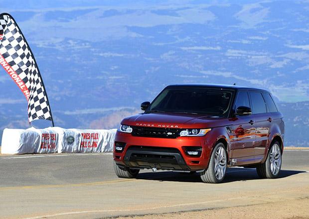 Range Rover Sport zajel rekordní čas na Pikes Peak