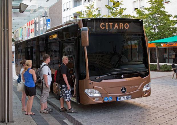 Městské autobusy: Čtyři typy