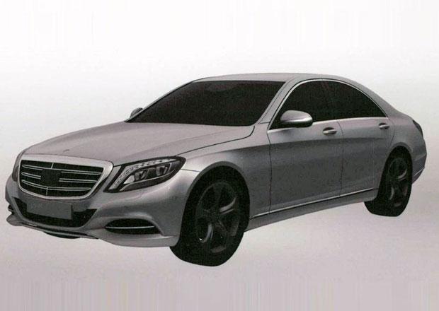 Plug-in verzi Mercedesu S odhalují patentové kresby