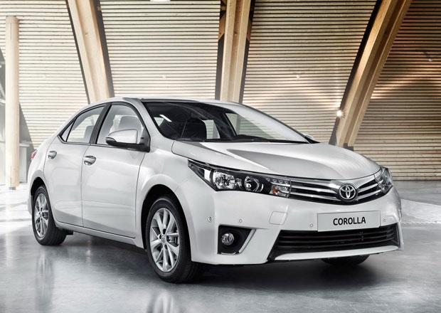 Toyota Corolla 2014: Pro Evropu s přídí Aurisu