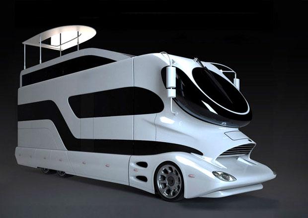 Marchi Mobile EleMMent Palazzo: Luxusní karavan s designem Luigi Colaniho (video)