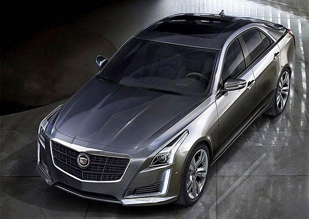 Cadillac CTS: Pětimetrový sedan bude k mání za 888.000 korun