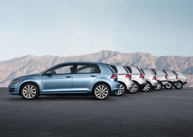 Volkswagen vyrobil 30 milionů Golfů, prodeje rostou