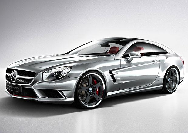 Coupetorino 2013: Mercedes-Benz SL jako Shooting Brake