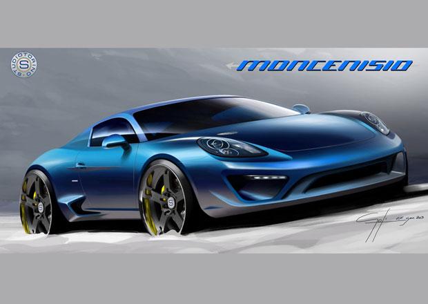 Moncenisio: Porsche Cayman S po italsku