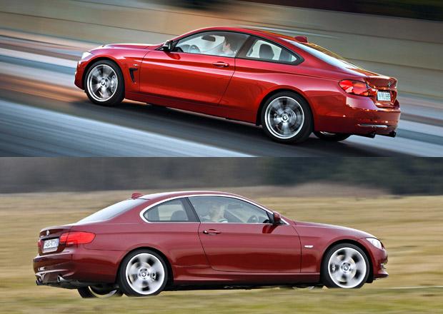 BMW 4 Coupé vs. BMW 3 Coupé: Designový duel