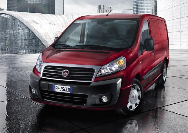 Lehce modernizovaný Fiat Scudo pro rok 2013