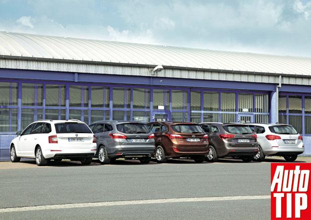 Škoda Octavia vs. Ford Focus, Hyundai i30, Kia Cee´d a Opel Astra ST