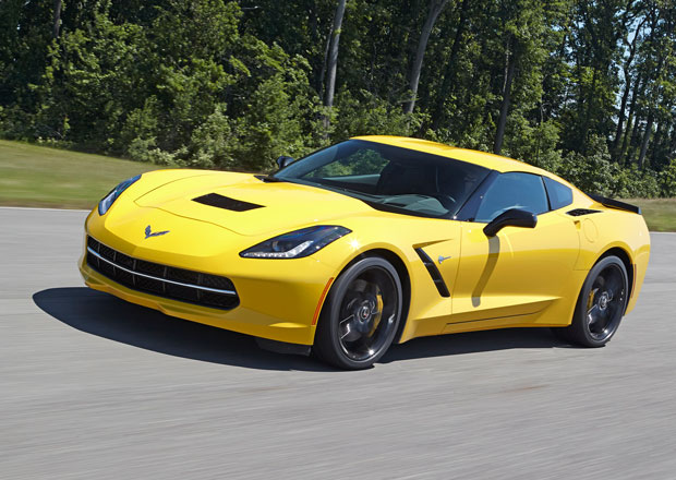 Chevrolet Corvette Stingray Z51 zrychlí z 0 na 96 km/h za 3,8 s