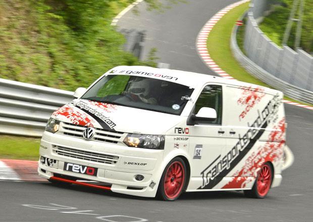 VW Transpoter zajel rekordní čas na Nürburgringu (2x video)