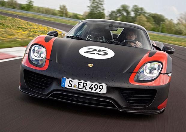 Na Porsche 918 Spyder čeká i český majitel