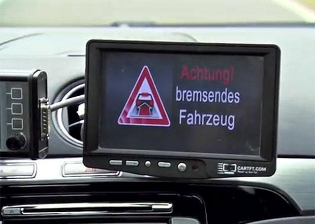 Ford testuje elektronické brzdové světlo (video)