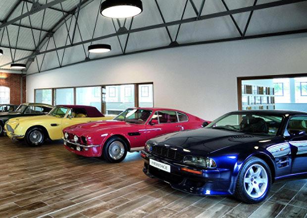 Aston Martin myslí i na své klasiky