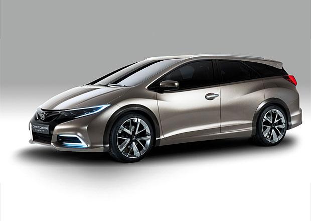 Civic Tourer Type S: Honda plánuje sportovní kombík