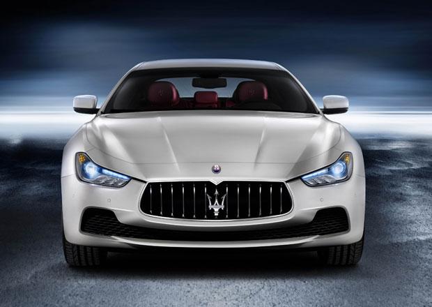 Maserati Ghibli vstupuje na �esk� trh, s dieselem stoj� 1,7 milionu
