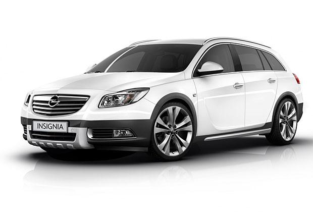 """Opel do Frankfurtu přiveze """"terénní"""" Insignii"""