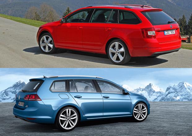 Škoda Octavia Combi, nebo VW Golf Variant: Kdo z nich je levnější?