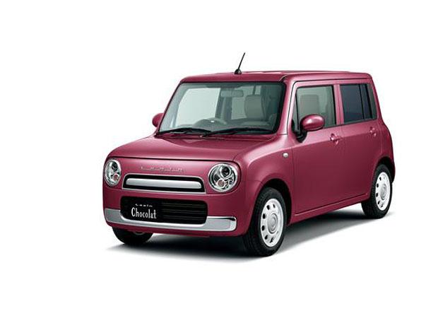 Suzuki Lapin Chocolat je auto, postavené speciálně pro ženy
