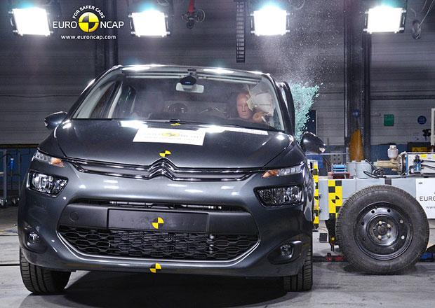 Euro NCAP 2013: Citroën C4 Picasso – Pět hvězd pro Technospace