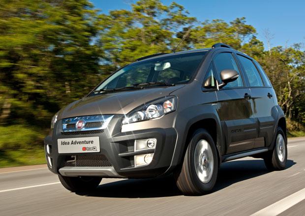 Fiat Idea 2014: omlazení zevnějšku i kabiny