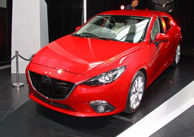 Nová Mazda 3 naživo: První statické dojmy