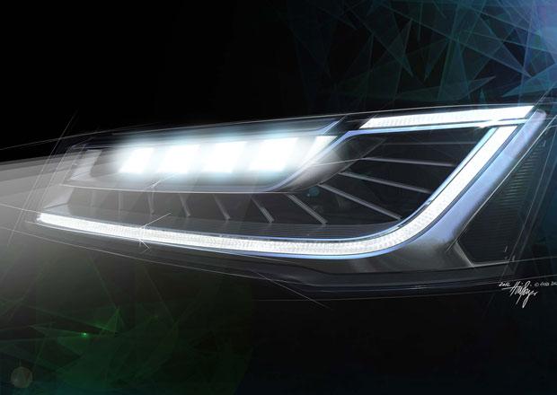 Audi A8 se na podzim dočká inteligentních diodových světel Matrix