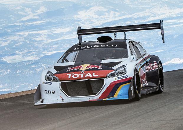 Sébastien Loeb zničil v čase 8 minut 13 sekund Pikes Peak (foto+video)