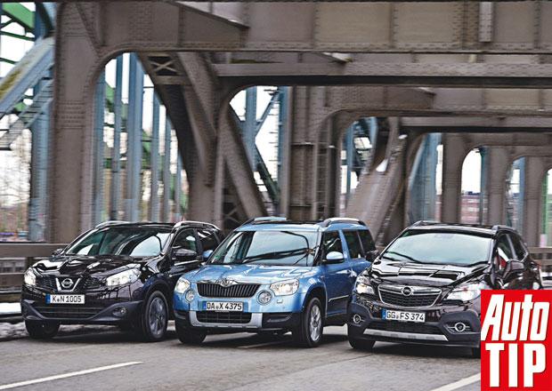 Nissan Qashqai vs. �koda Yeti vs. Opel Mokka