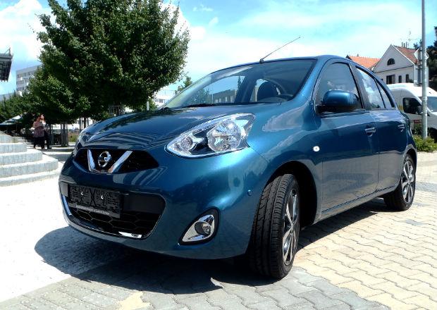 Nissan Micra pro rok 2014 se objevil v Praze!