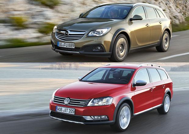 Designový duel: Opel Insignia Country Tourer vs. VW Passat Alltrack