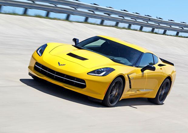 Ost�ej�� Corvette Z06 m� nam��eno do Detroitu