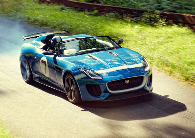 Jaguar Project 7: F-Type v retrostylu