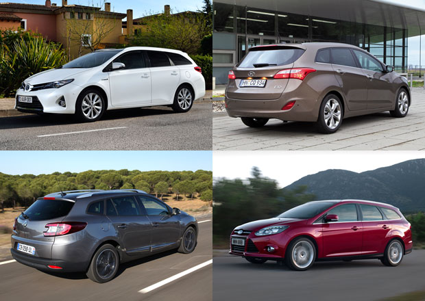 Toyota Auris Touring Sports vs. konkurence: Co koupit?