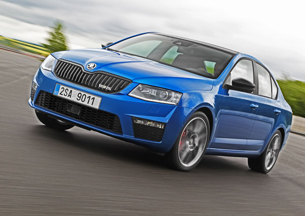 �koda Octavia RS: Sv�tov� premi�ra v Goodwoodu (+ video)