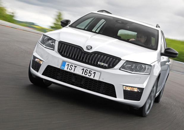 Škoda Octavia RS v Česku: Benzinová za 620, dieselová za 630 tisíc korun