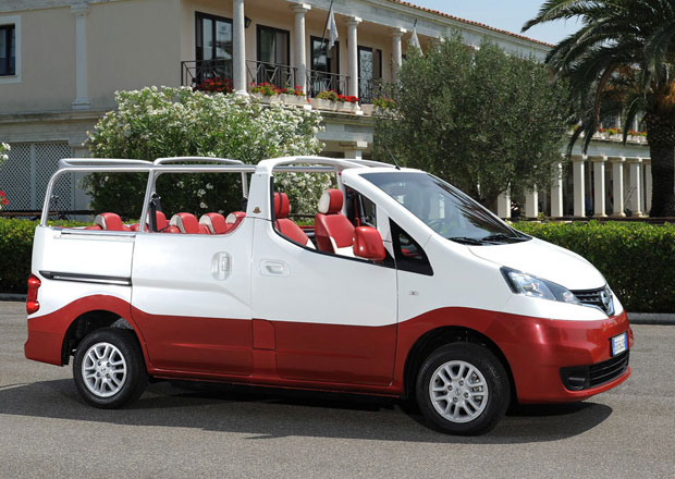 Nissan Evalia C: MPV bez st�echy pro sedm