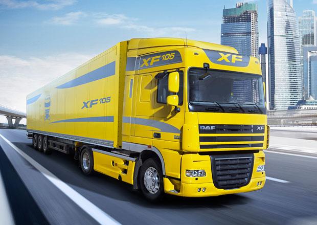 DAF XF105 ATe získal titul Fleet Truck of the Year 2013