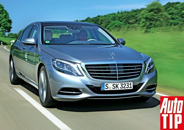 Mercedes-Benz S 500 Long: Neřiďte, když nechcete