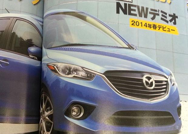 P��t� Mazda 2 odhalena na str�nk�ch japonsk�ho �asopisu
