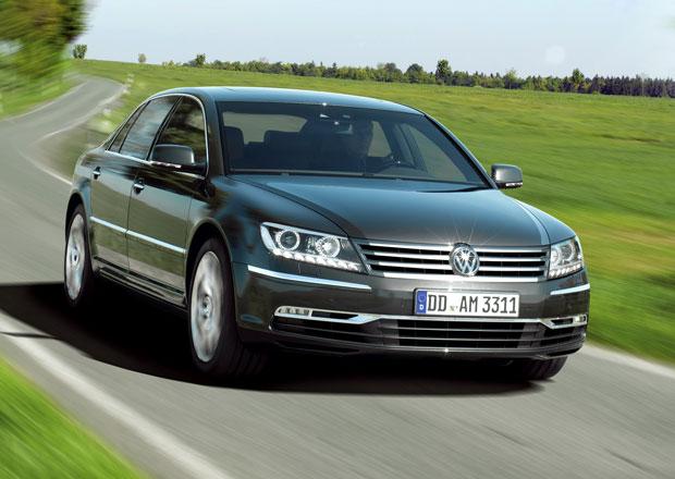 Volkswagen s novým Phaetonem nepospíchá