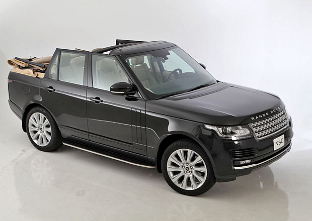 Range Rover dostal pl�t�nou skl�dac� st�echu (+video)