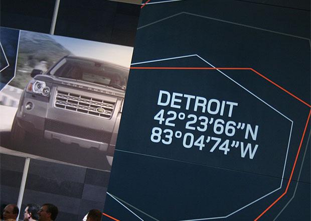 Finanční potíže Detroitu prý nezasáhnou tamní autosalon