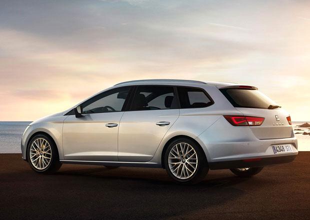 Seat Leon ST: Sportovní design, 589 l zavazadel a 4x4