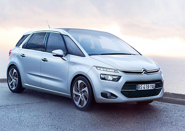 Nový Citroën C4 Picasso míří na trh, stojí od 400.000 Kč
