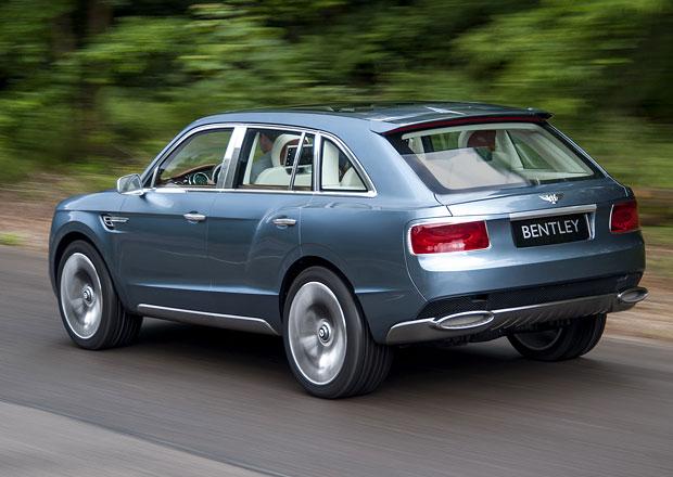 Bentley chce v roce 2020 prodávat 20.000 aut ročně