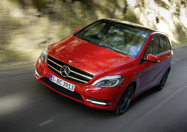 Mercedes B 160 CDI na českém trhu: Nový základ stojí 545 tisíc korun